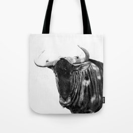 Mr Wildebeest Tote Bag