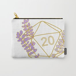 Sweet Crit (Lavender) Carry-All Pouch