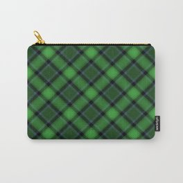 Green Scottish Fabric Carry-All Pouch