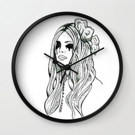 I only have eyes for you Wall Clock