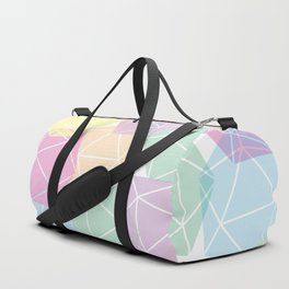 Pastel D20 Pattern Dungeons and Dragons Dice Set Duffle Bag