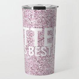 Glitter is a girls best friend! Travel Mug