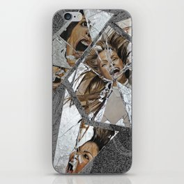 Happiness Shattered iPhone Skin