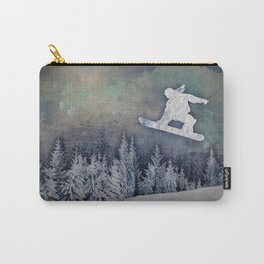 The Snowboarder Carry-All Pouch