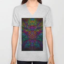 Unified with nature Unisex V-Neck