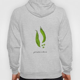 Give Peas A Chance, Kitchen Decor Hoody