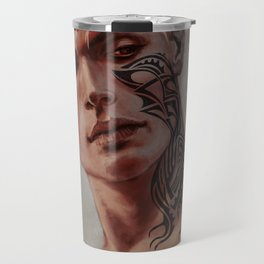 Rowan WhiteThorn Throne of Glass portrait Travel Mug
