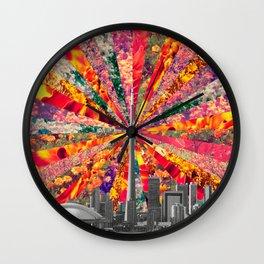 Blooming Toronto Wall Clock