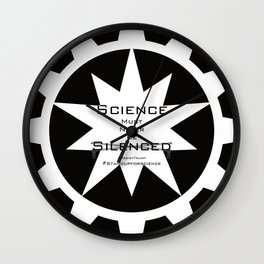 Science must never be silenced Wall Clock