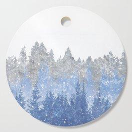 Winter Cutting Board