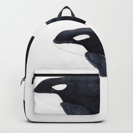 Orca (Orcinus orca) Backpack