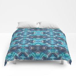 High Definition 60s Geometric Comforters