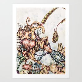 """The Greater God"" Art Print"