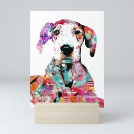 mila the dane Mini Art Print