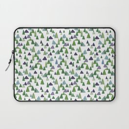 Abstract Watercolor Forest Laptop Sleeve
