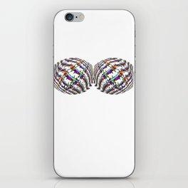 Twin Peaks Rainbow Barbed Wire Security Garment iPhone Skin