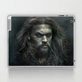 New Aquaman - Jason Momoa portrait Laptop & iPad Skin