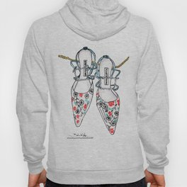 A love affair with Manolos  Hoody
