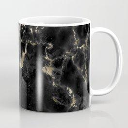 Black and Gold Marble Coffee Mug