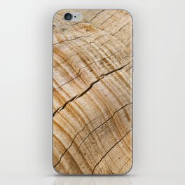 Weathered Wood Grain iPhone Skin