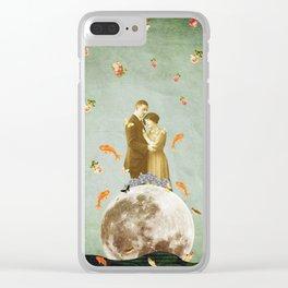 Bailando un bolero Clear iPhone Case