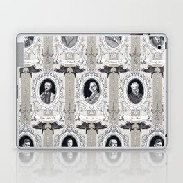 My favorite Authors Toile de Jouy Laptop & iPad Skin