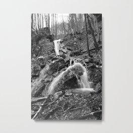 Waterfall Fischbach Germany 2014 Metal Print