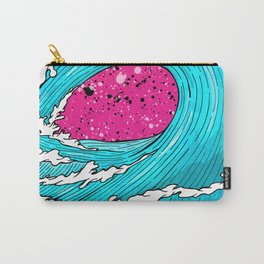 The Sea's Wave Carry-All Pouch