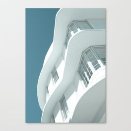 Art Deco Miami Beach #7 Canvas Print