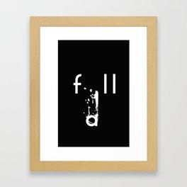 ::Fall:: Framed Art Print