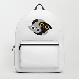 Cute Kitties Hugs together and forming a Yin Yang Backpack