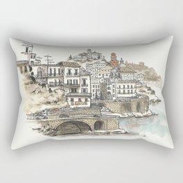 Amalfi Coast memory Rectangular Pillow