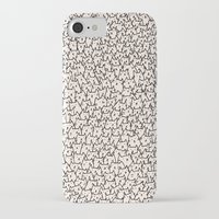believe iPhone & iPod Cases featuring A Lot of Cats by Kitten Rain