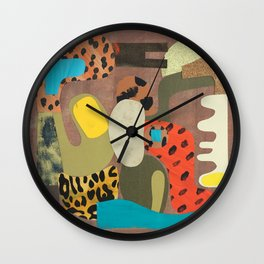 Coffee Bean Wall Clock