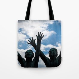 Brothers in Arms Tote Bag