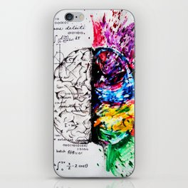 Conjoined Dichotomy iPhone Skin