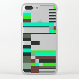 Geometric design - Bauhaus inspired Clear iPhone Case
