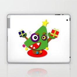 Kawaii Cartoon Christmas Tree Laptop & iPad Skin