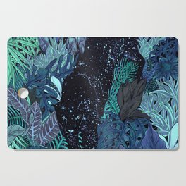 The Jungle at Night Colour Version Cutting Board