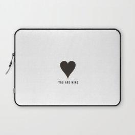 MONO HEART LOVE Laptop Sleeve