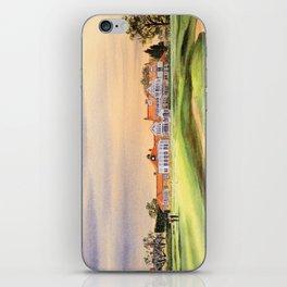 Muirfield Golf Course 18th Green iPhone Skin
