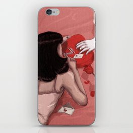 Love and cocaine iPhone Skin