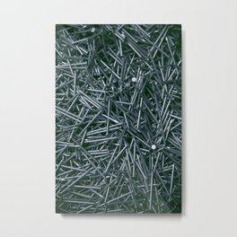Nails Metal Print