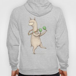 Alpaca on Maracas Hoody