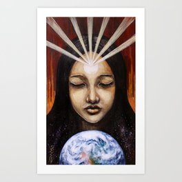 Shine Your Light for the World to See Art Print