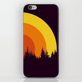 summer mountain iPhone Skin