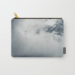 Darkness and mysterious clouds over the mountain Carry-All Pouch