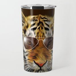 In the Eye of the Tiger Travel Mug
