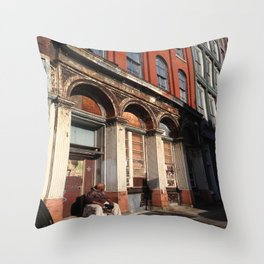 Streets of Philly Throw Pillow
