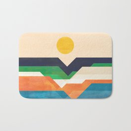 Tale from the shore Bath Mat